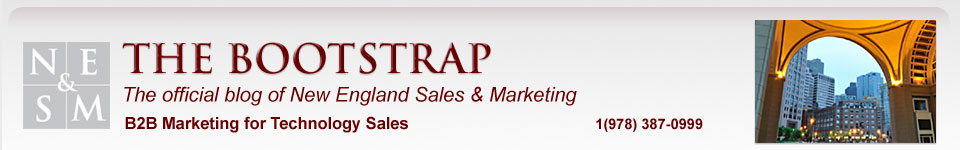 The Bootstrap B2B Sales & Marketing Blog